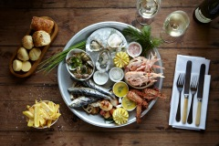 Seafood Platter with us...