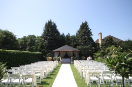 Say 'I do' outdoors at The William Cecil