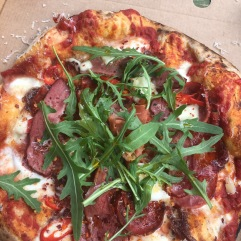 Freshly Prepared Pizza from The Pizza Potting Shed