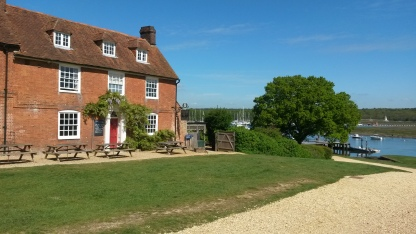 The Master Builders hotel at Bucklers Hard
