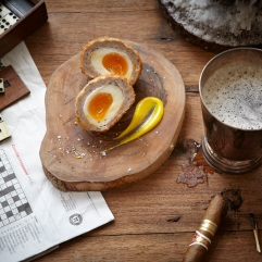 Homemade Scotch Eggs The Bull & Swan