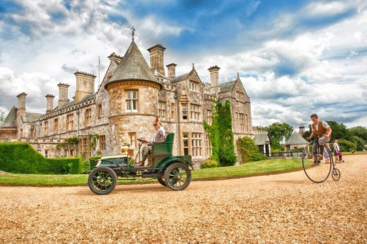 The National Motor Museum Beaulieu. Stock Image shoot May 27th 2014.